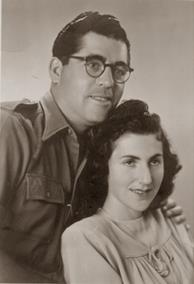 נתן אלחנני עם אשתו טובה
